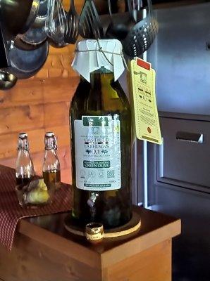 5 Liter Magnum Flasche Olivenöl Green Olive - 5 Liter Magnum Flasche Olivenöl Green Olive